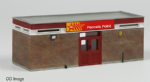 42-191 Farish Scenecraft RTP N Scale Red Star Parcels Office